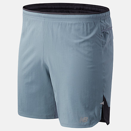 NB Impact Run 7 inch Shorts, MS01243OGR image number null