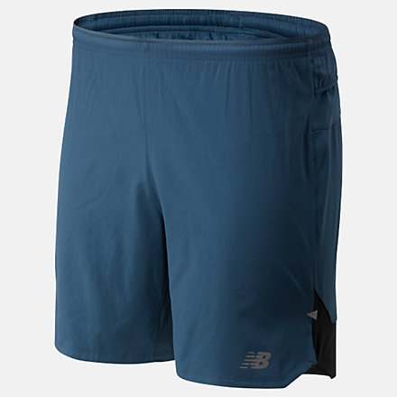 New Balance Impact Run 7 Inch Short, MS01243SNB image number null