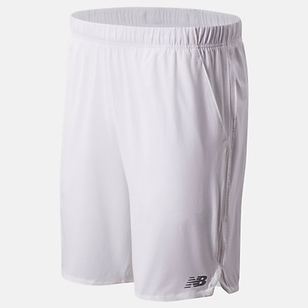 NB 9 Inch Rally Short, MS01412WT image number null