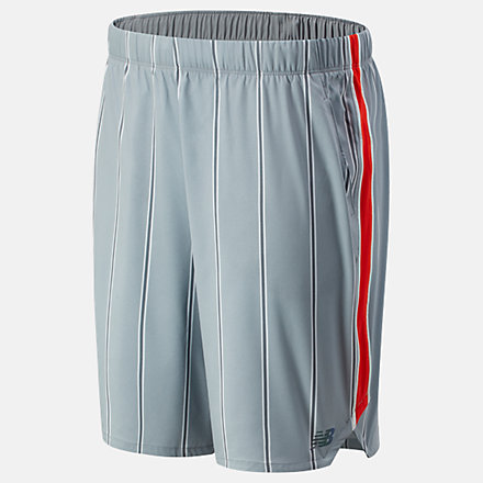 New Balance 9 Inch Printed Rally Short, MS01413SEL image number null