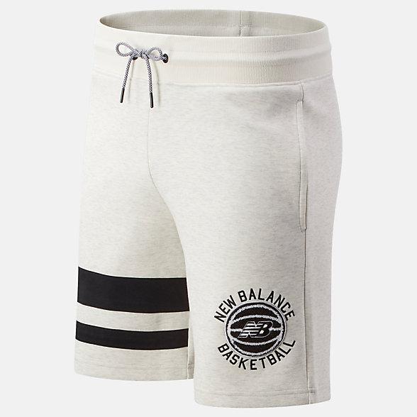 New Balance NB Basketball First Light Shorts, MS01679SAH