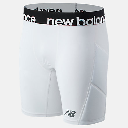 New Balance Slider Short, MS01716WT image number null