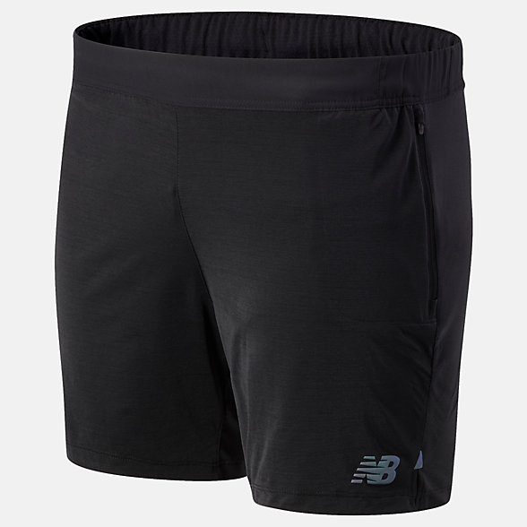 New Balance Q Speed Fuel Short, MS03263BK