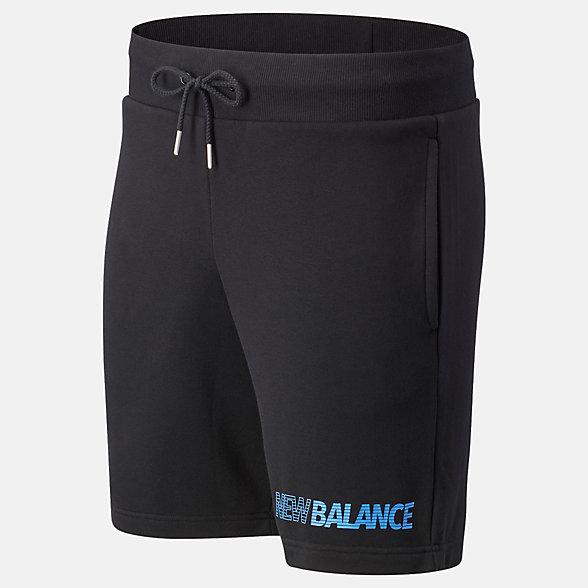 New Balance Essentials Speed Short, MS03501BK
