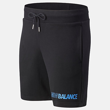 New Balance Essentials Speed Short, MS03501BK image number null