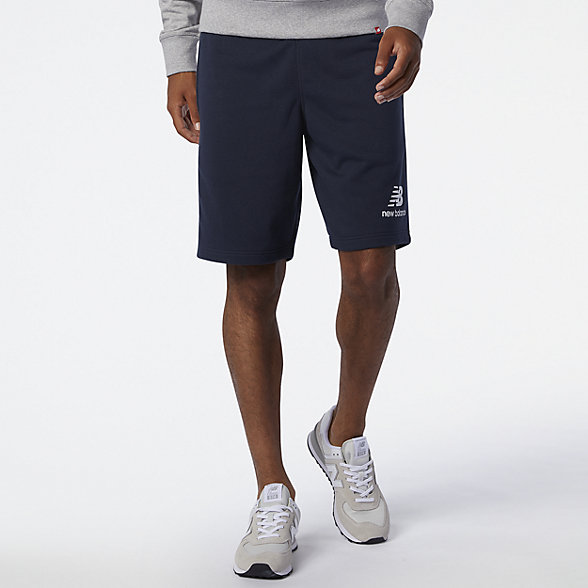 NB NB Essentials Stacked Logo Short, MS03558ECL