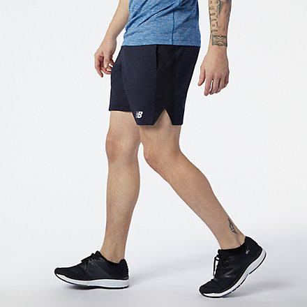 New Balance Tenacity Lightweight Knit Short, MS11025ECR image number null