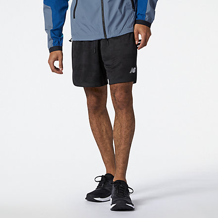 New Balance R.W.T. Lightweight Knit Short, MS11056BK image number null