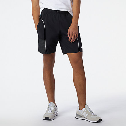 NB NB Athletics Wind Short, MS11500BK image number null