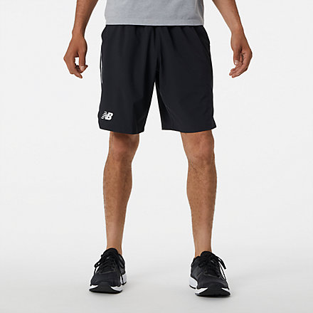 New Balance Rally 9 In Tournament Short, MS13412BK image number null