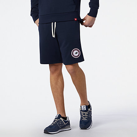 NB Nb Essentials Athletic Club Fleece Short, MS13500ECL image number null