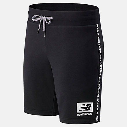 NB NB Essentials Winterized Fleece Shorts, MS13504BK image number null