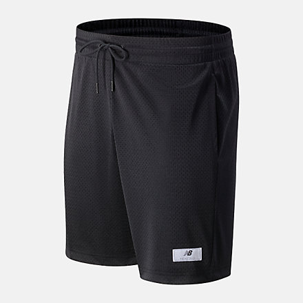 New Balance NB Essential BBall Short, MS13580BK image number null