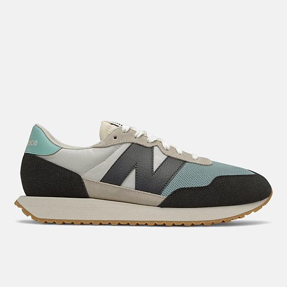 New Balance 237系列男女同款复古休闲鞋, MS237HL1