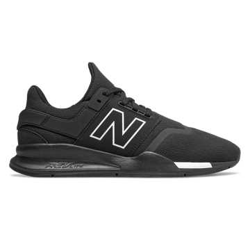 New Balance 247, Black with Munsell White