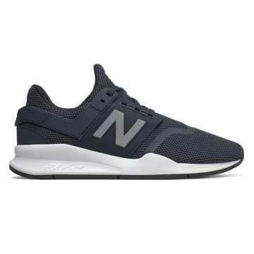 New Balance 247系列男款休閑運動鞋  輕量舒適, 深藍色