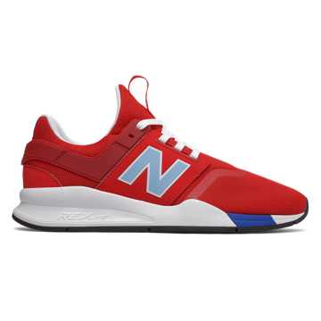 New Balance 247 Deconstructed, Team Red with Summer Sky