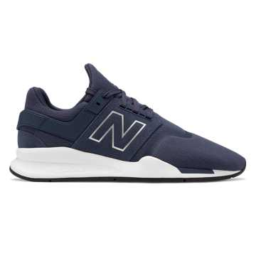 New Balance 247, NB Navy with Munsell White