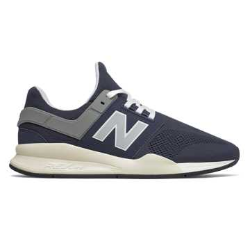 New Balance 247, Navy with Bone