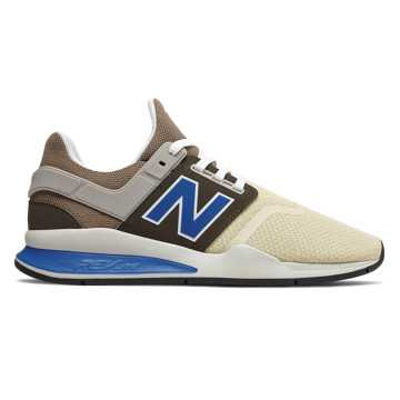 New Balance 247, Bone with Mushroom