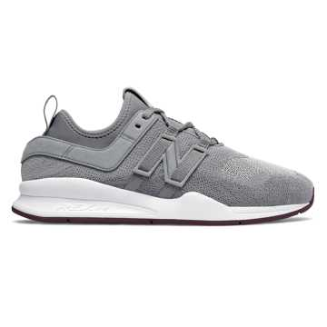 New Balance 247 Trace Fiber, Gunmetal with Dark Current