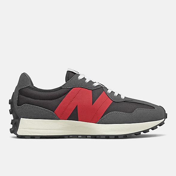 New Balance 327系列男女同款复古休闲鞋, MS327FF