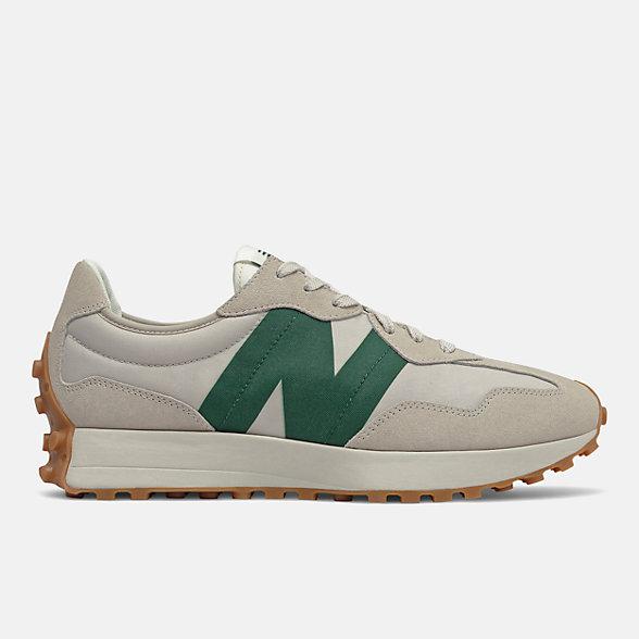 New Balance 327系列男女同款复古休闲鞋, MS327HR1