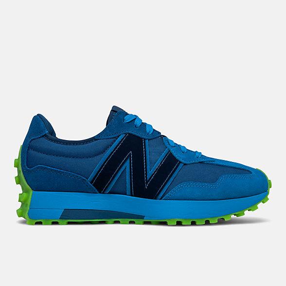 New Balance 327系列复古休闲鞋, MS327KJR