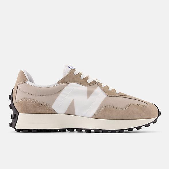 New Balance 327系列男女同款复古休闲鞋, MS327LH1