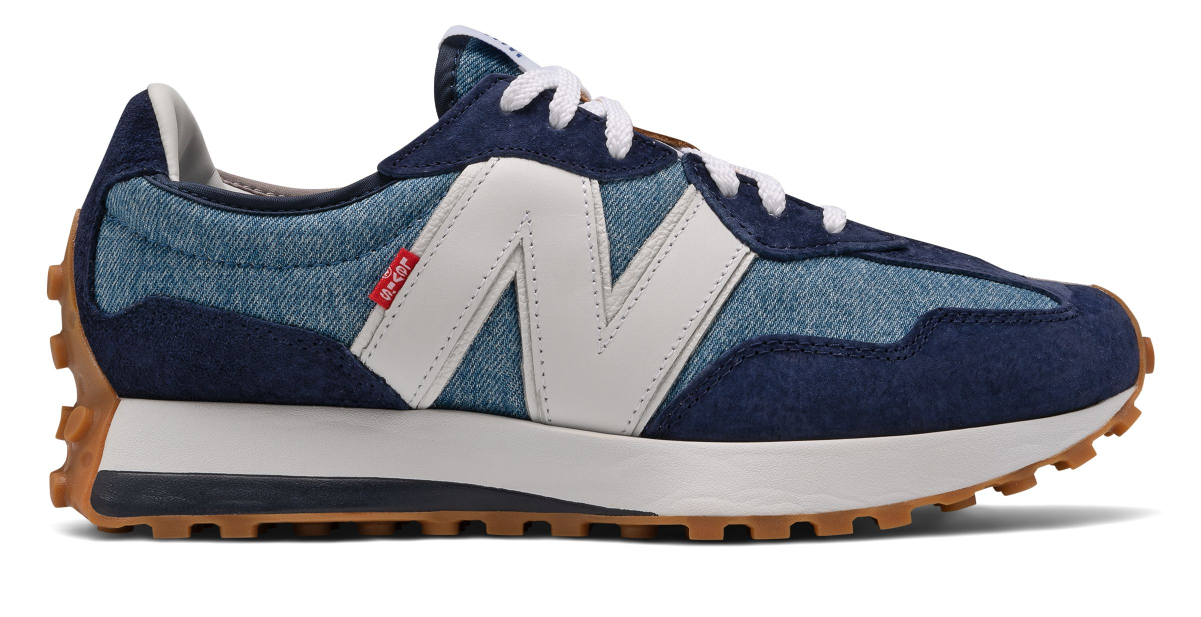 NB New Balance x Levis 327, MS327LVA, Navy with White