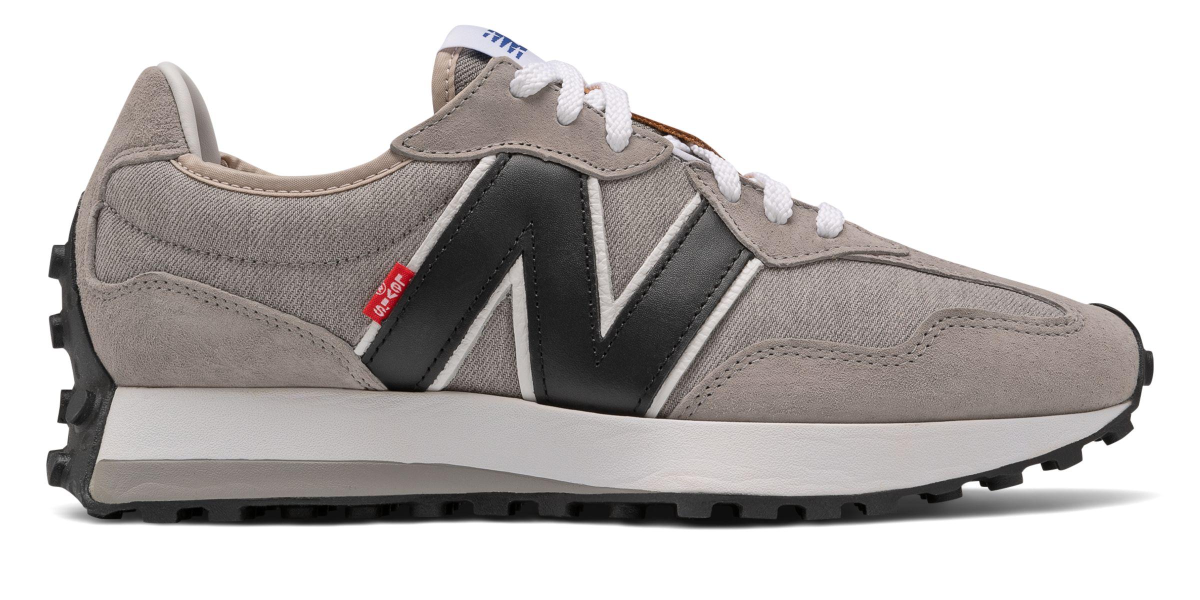 NB New Balance x Levis 327, MS327LVB, Grey with Black