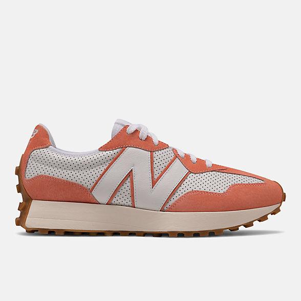 New Balance 327系列男女同款复古休闲鞋, MS327PN