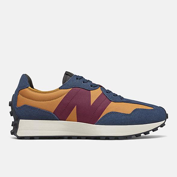New Balance 327系列男女同款复古休闲鞋, MS327TA