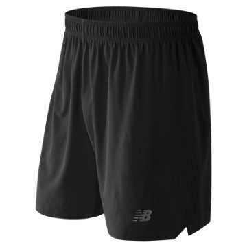 New Balance 7 Inch Shift Short, Black