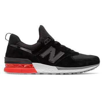 New Balance 574 Sport, Grey with Black