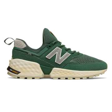 New Balance 574 Sport, Team Forest Green with Incense