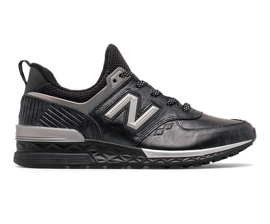 new balance 574 sport black panther