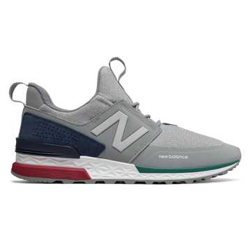 New Balance 574 Sport, Steel with Pigment