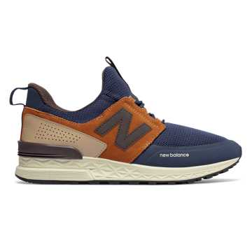 New Balance 574 Sport, Pigment with Canyon