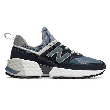 New Balance 574 Sport, Dark Navy with Agean Blue