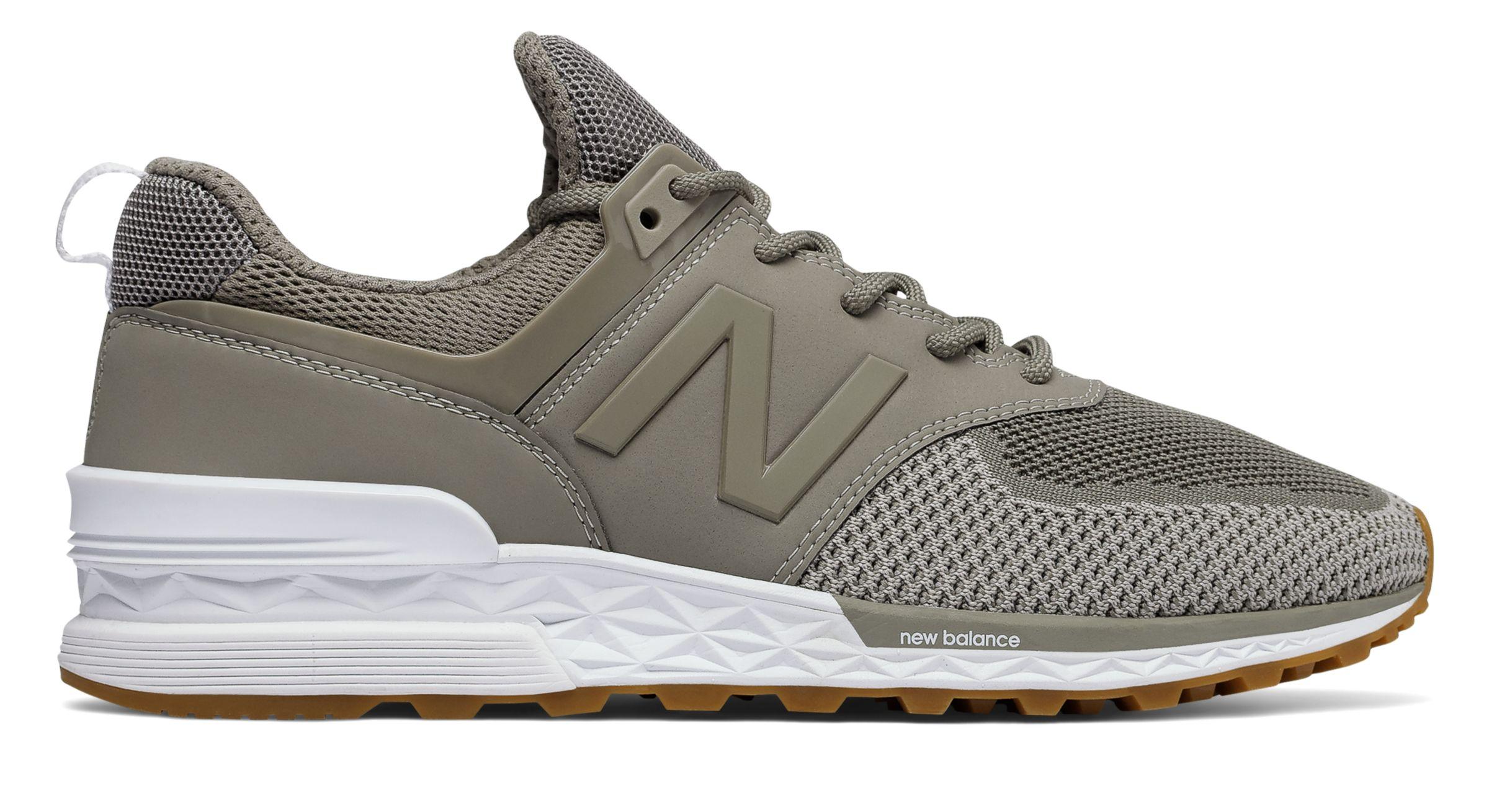 New Balance 574 Sport Military Urban Grey