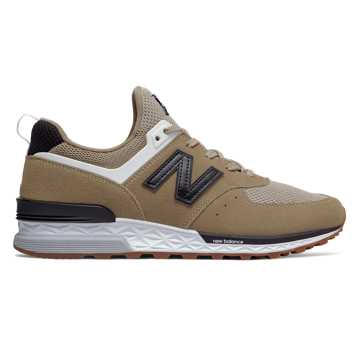 New Balance 574 Sport, Hemp with Black