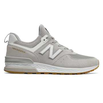 New Balance 574 Sport, Rain Cloud with White
