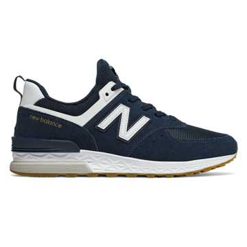 New Balance 574 Sport, Vintage Indigo with White