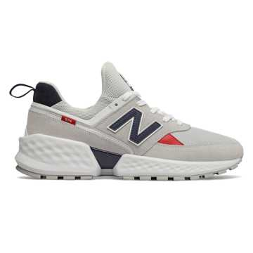 New Balance 574 Sport, Nimbus Cloud with White
