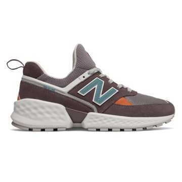 New Balance 574 Sport, Light Shale with White