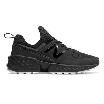 New Balance 574S V2系列男女同款复古休闲运动鞋    , 黑色