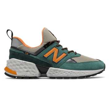 official photos c1251 e06e3 New Balance 574 Sport, Dark Agave with Trench