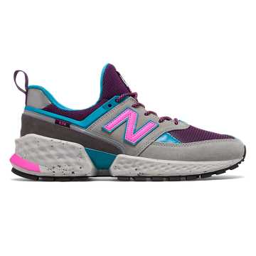 New Balance 574 Sport, Steel with Deep Ozone Blue
