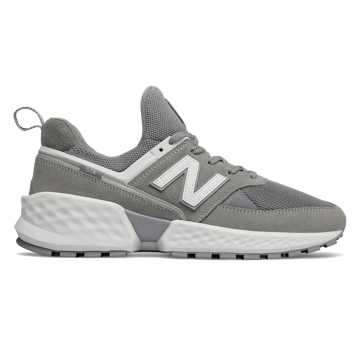 New Balance 574 Sport, Steel with White